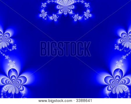 Flower Fractal Background