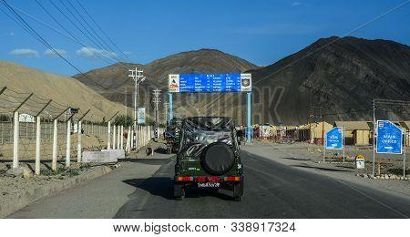 Mountain Road Of Ladakh, Northern India