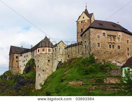The Castle Loket>czech Republic