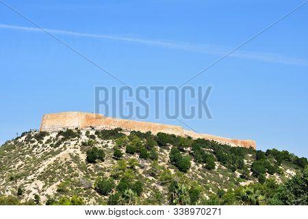 Guardamar Del Segura Castle In Guardamar Del Segura, Alicante. Spain. Europe. September 22, 2019