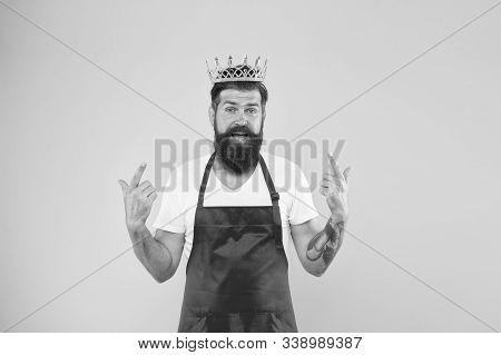 Kitchen Is My Kingdom. Ideas And Tips. Chief Cook And Professional Culinary. Cook Food. Cook With Be