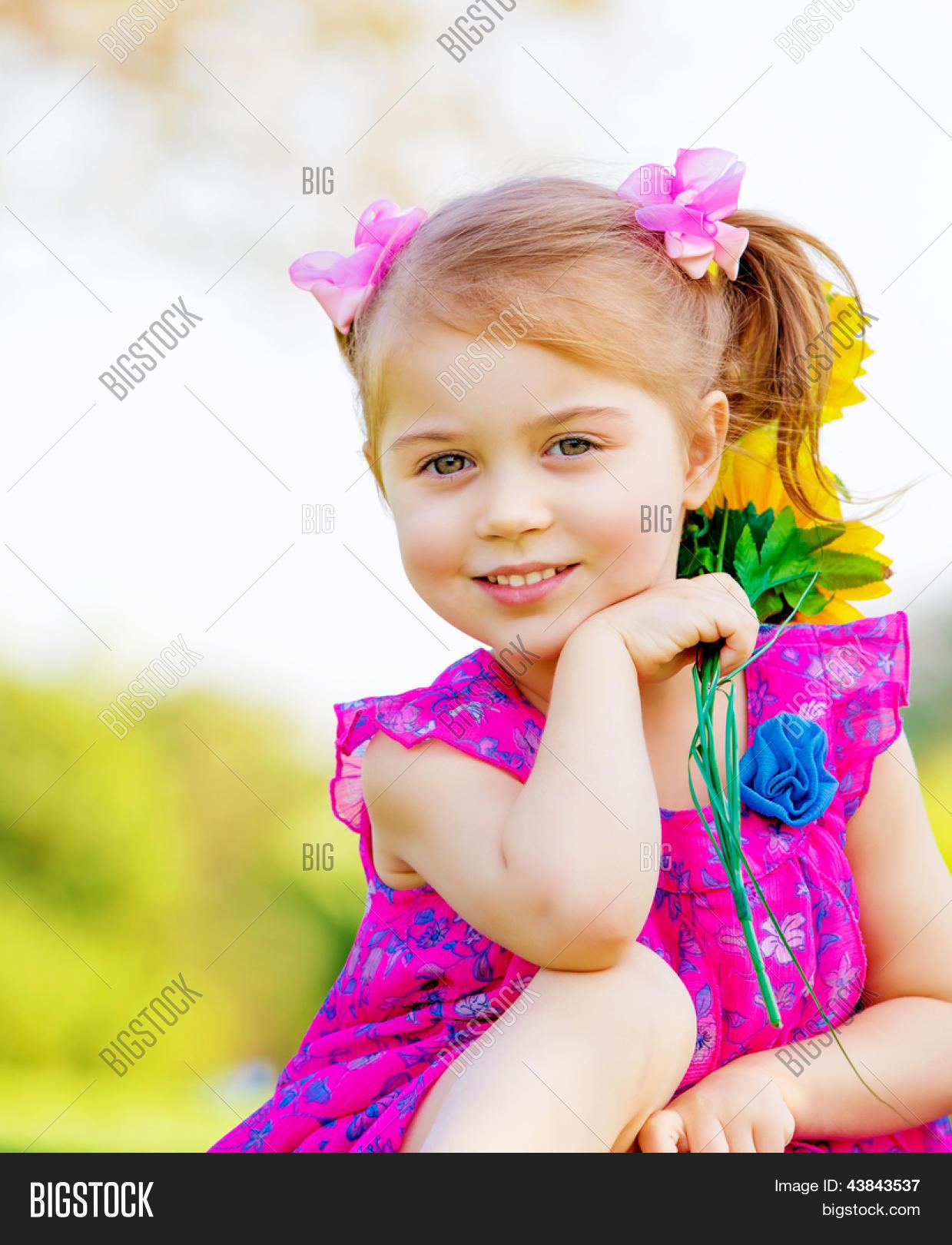 happy baby girl image & photo (free trial) | bigstock