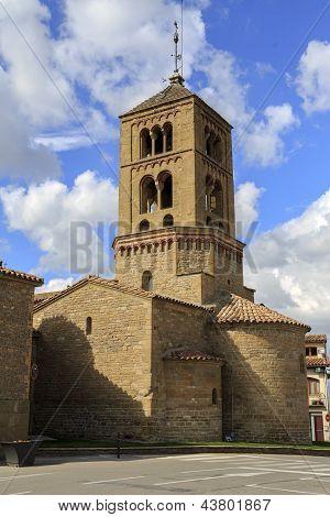 Church Of Santa Eugenia De Berga