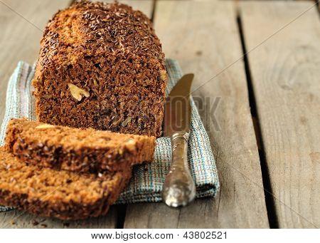 Whole-Grain Loaf Cake