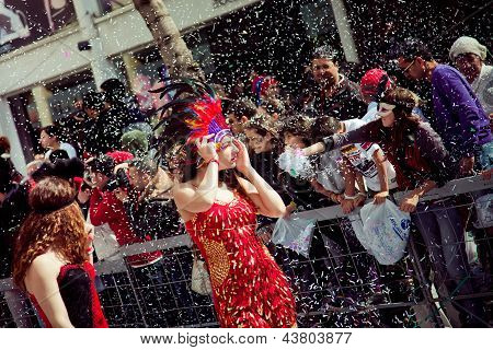 Cyprus Carnival Parade In Limassol