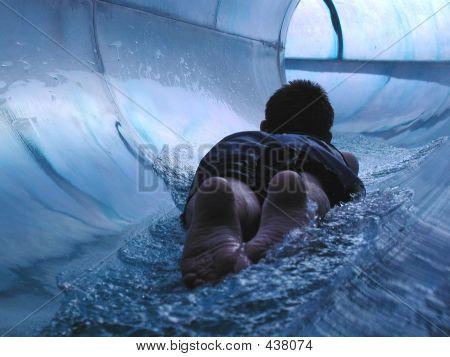 Sliding Into The Blue