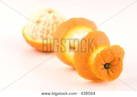 Orange Pealed Perspective Three