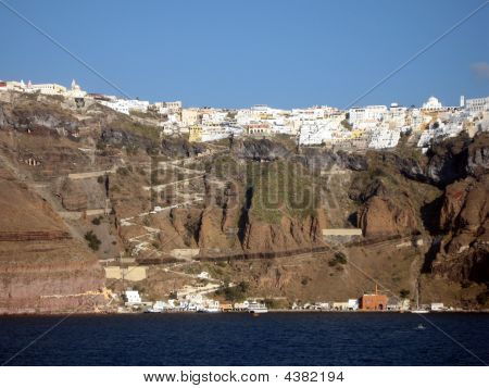 Santorini City View