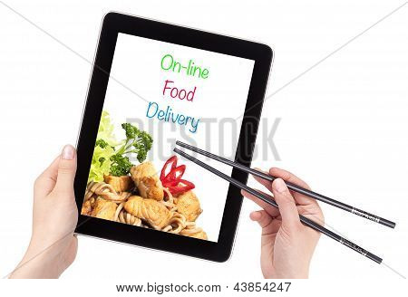 Online Food Delivery Concept