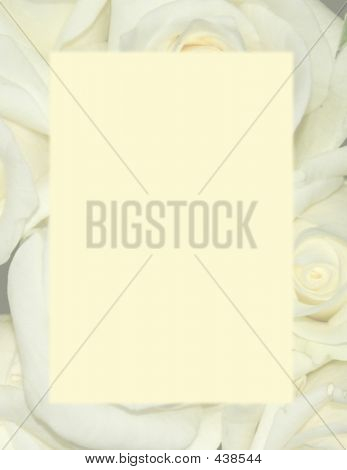 Yellow Roses - Background Stationery