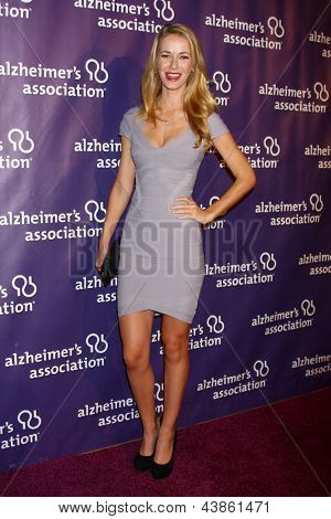 LOS ANGELES - MAR 20:  Olivia Jordan arrives at the 21st Annual A Night at Sardi's to Benefit the Alzheimer's Association at the Beverly Hilton Hotel on March 20, 2013 in Beverly Hills, CA