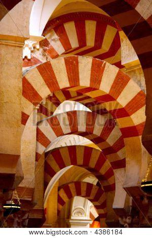 La Mezquita Cordoba Spain Detail