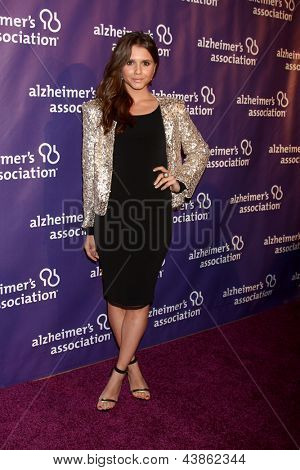 LOS ANGELES - MAR 20:  Alexandra Chando arrives at the 21st Annual A Night at Sardi's to Benefit the Alzheimer's Association at the Beverly Hilton Hotel on March 20, 2013 in Beverly Hills, CA