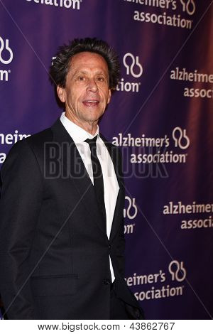 LOS ANGELES - MAR 20:  Brian Grazer arrives at the 21st Annual A Night at Sardi's to Benefit the Alzheimer's Association at the Beverly Hilton Hotel on March 20, 2013 in Beverly Hills, CA