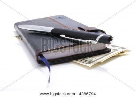 Notebook Pen Dollars 1