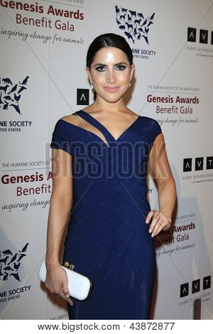BEVERLY HILLS - MAR 23: Caren Brooks at  the 2013 Genesis Awards Benefit Gala at The Beverly Hilton Hotel on March 23, 2013 in Beverly Hills, California