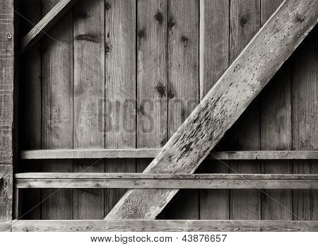 Wooden Wall and Bracing