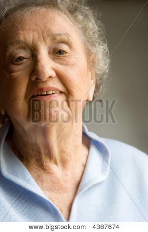Sweet Elderly Woman