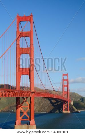 Golden Gate Bridge From Fort Point