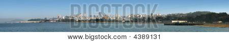San Francisco Panorama From Treasure Island To Park Presidio