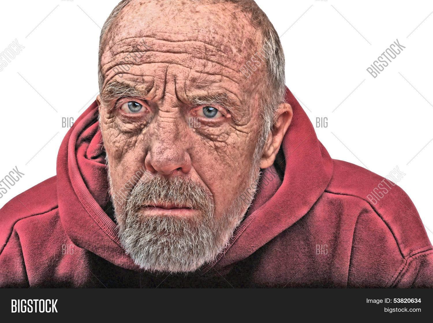 Angry Old Man Image Photo Free Trial Bigstock