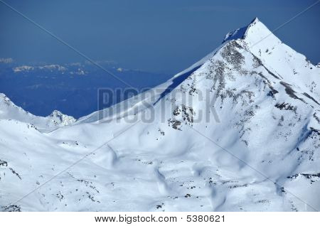 Swiss Alps In The Winter