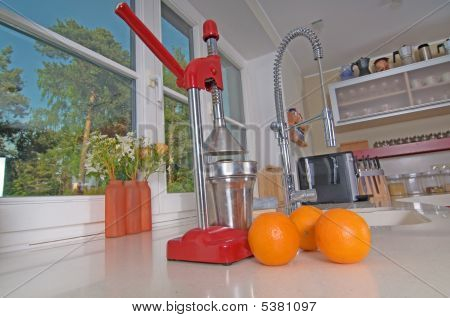 Oranges And Juicer