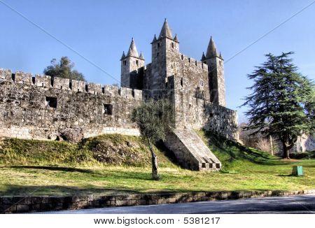 Middle-age castle