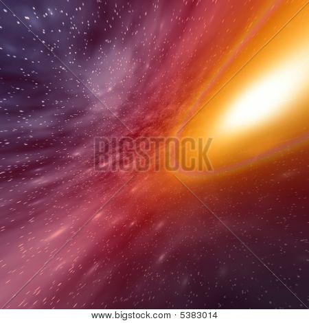 Space. Illustration For Design