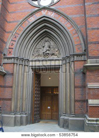 Swedish Churchs Door