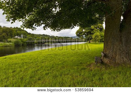 Aberlour, a seat by the Spey