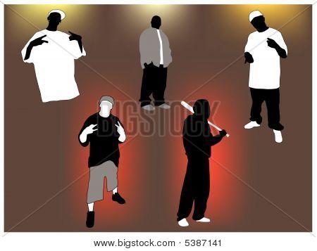 Gangsta Set.