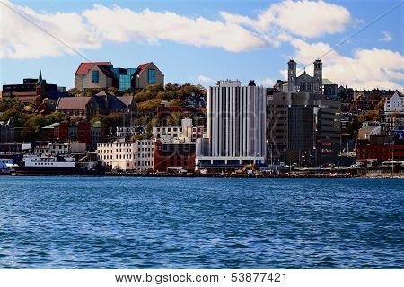 Downtown St. John's Skyline, Newfoundland.