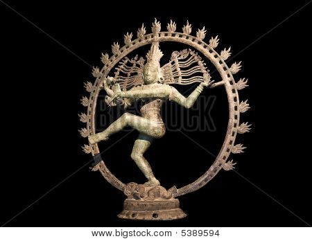Shiva Dancing Over Maya Demon
