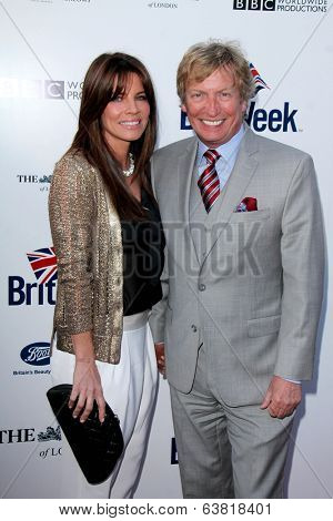 BODHILOS ANGELES - APR 22:  Nigel Lythgoe at the 8th Annual BritWeek Launch Party at The British Residence on April 22, 2014 in Los Angeles, CA