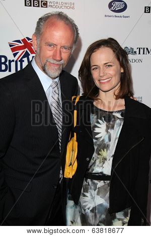 BODHILOS ANGELES - APR 22:  Xander Berkeley, Sarah Clarke at the 8th Annual BritWeek Launch Party at The British Residence on April 22, 2014 in Los Angeles, CA