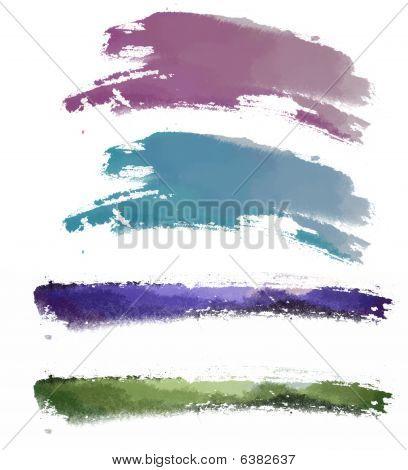Watercolor Brushwork