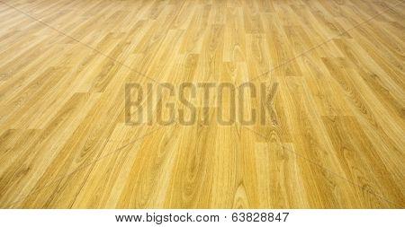 perspective flat empty wooden floor