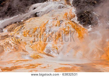 Volcanic Hot Water Well Orakei Korako New Zealand