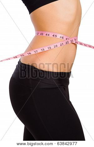 Abdomen And Measuring Tape