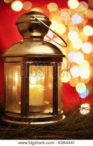 Lantern With Blur Light