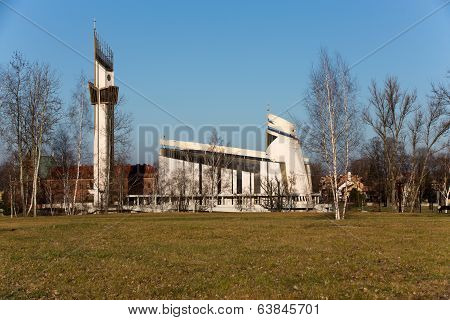 Cracow Lagiewniki - The Divine Mercy Sanctuary