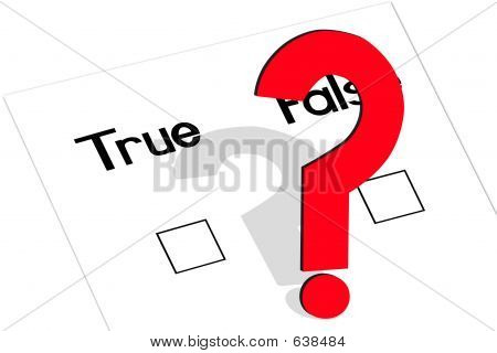 True-False-Question