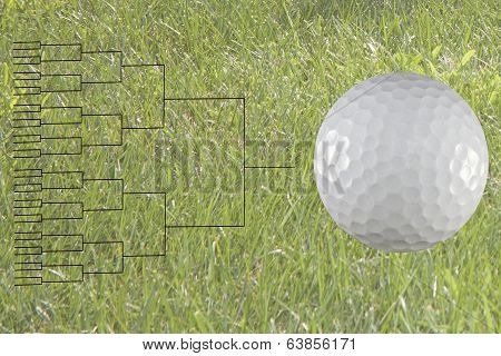 32 Player Match Play Golf Bracket