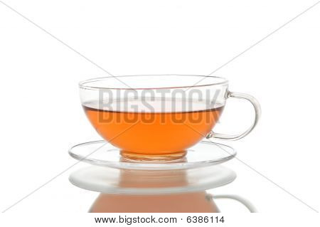 Class Cup And Saucer