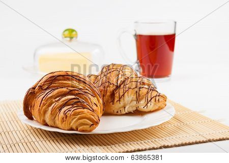 Croissants And Tea