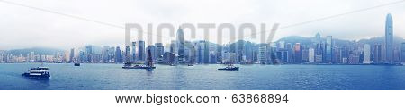 Harbour Victoria in the Hong Kong