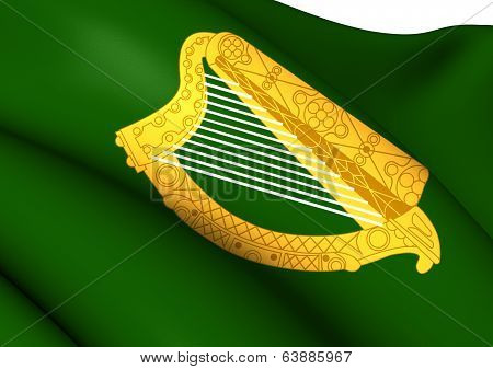 Flag Of Leinster Province