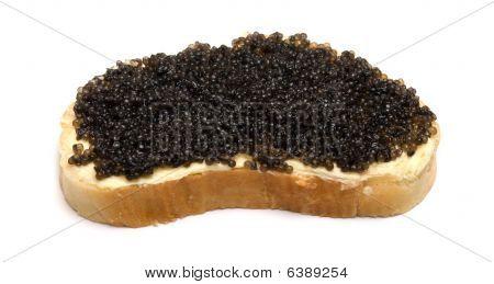Bread With Caviar.