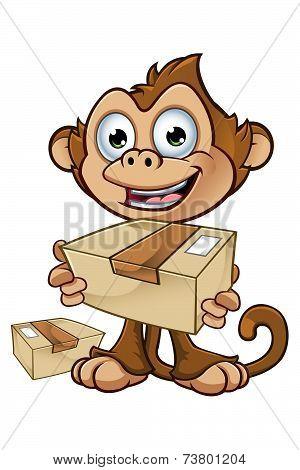 Cheeky Monkey Character